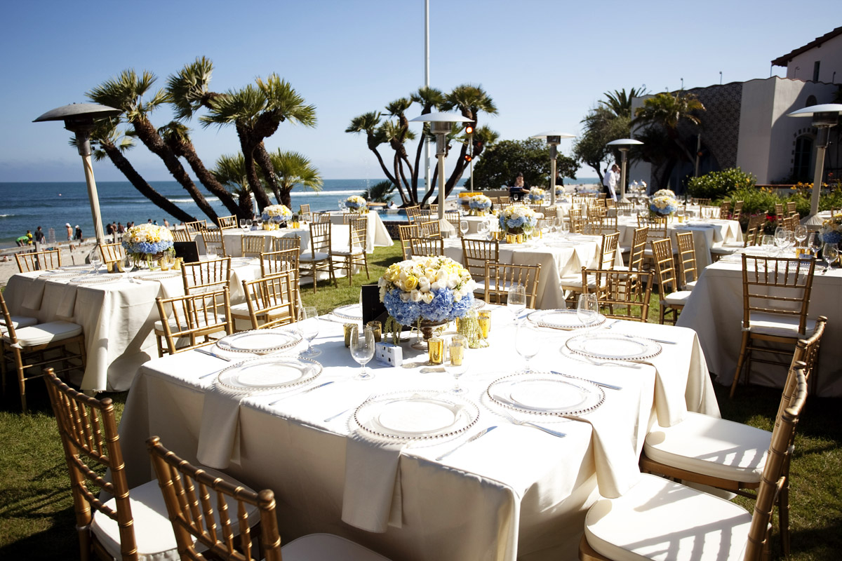 Real wedding heather and chris at the adamson house for Malibu house rentals for weddings